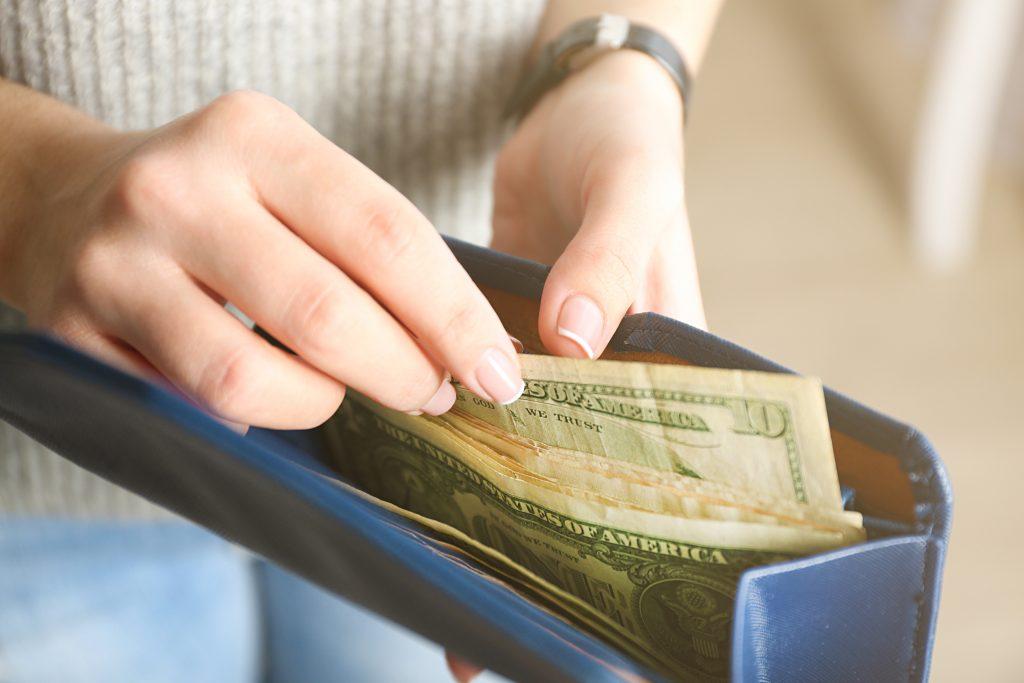 A full wallet