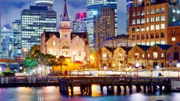 A tourist spot in Sydney, Australia