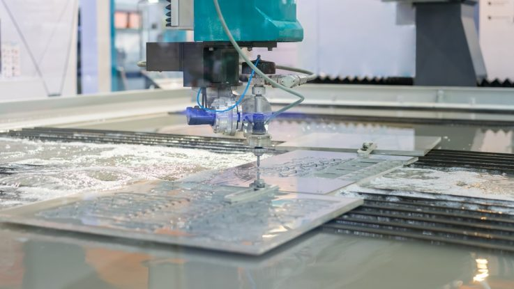 a laser cutter