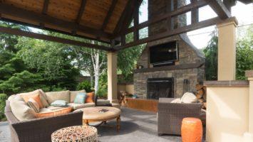 Custom outdoor shelter