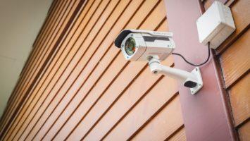cctv camera on a home