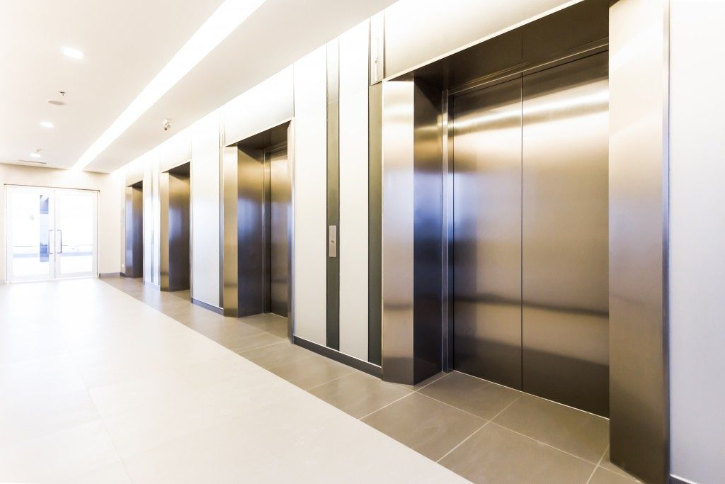 Stainless building elevators