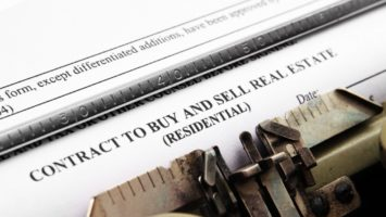 contract to buy and sell real estate