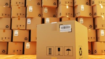 Warehouse packages for shipment