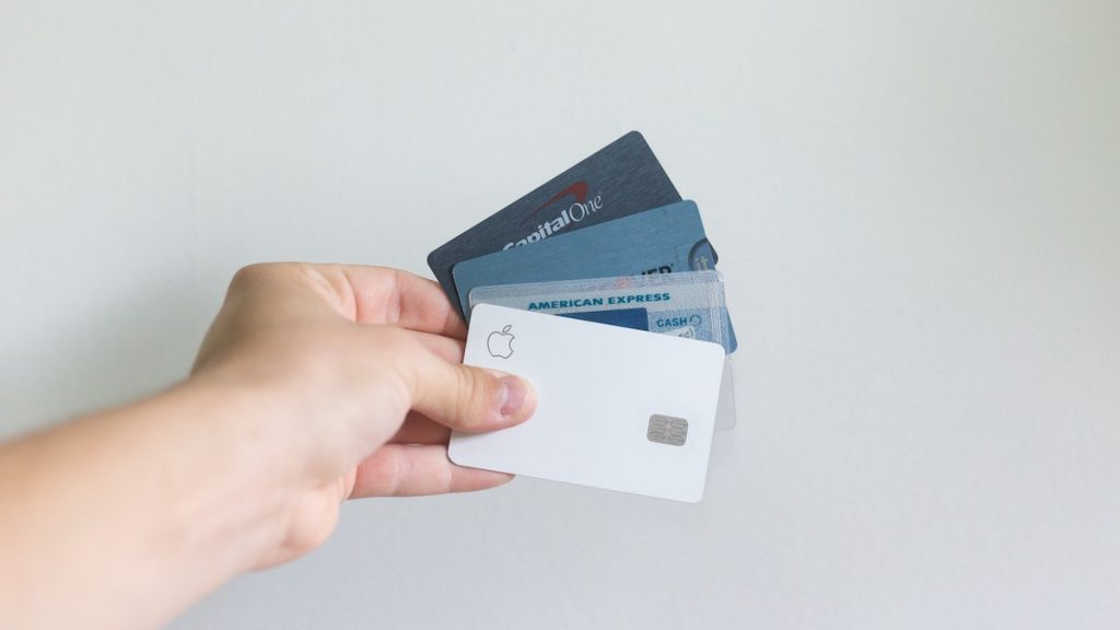holding credit cards